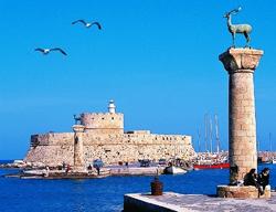 Il porto di Rodi