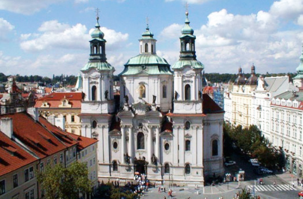 Praga La chiesa di San Nicola