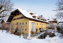 Il Romantik Hotel Gmachl innevato