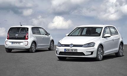 Le nuove e-Up! e e-Golf di casa Volkswagen