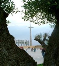 Il sagrato della chiesa nuova di San Giovanni Rotondo