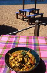 Caraibi Pranzo saporito sulla spiaggia (Foto di Giovanna Dal Magro)