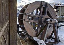 La ruota di un mulino