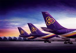 L'orchidea simbolo della Compagnia aerea