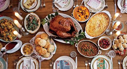 La tavola della festa