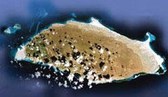 Tortuga Tortuga, vista satellitare