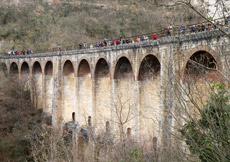 Trekking ferroviario nel Salernitano