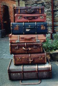 Storia di una valigia abbandonata
