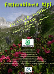 Legambiente fa festa in Valtellina