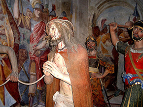 Cristo che sale al Pretorio