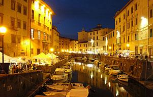 Livorno, il quartiere della Venezia Nuova