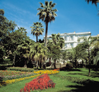 Il giardino di Villa Zirio, a Sanremo (Archivio Fotografico Regione Liguria)