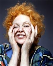 Vivienne Westwood fotografata da Rankin