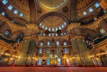 Istanbul, Interno di una moschea