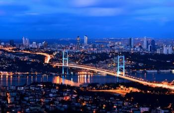 Istanbul, visione notturna