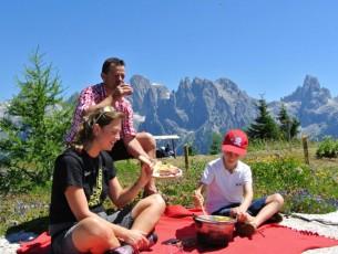 Cheesenic: pic-nic nella natura delle Dolomiti