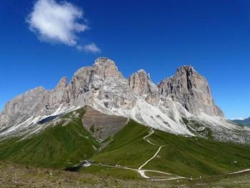 Dolomiti Trentine, Gruppo del Sassolungo in Val di Fassa