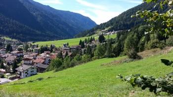 Val di Fassa Moena panorama
