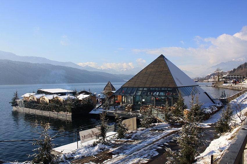Casa Sul Lago Stoccolma Inverno : Carinzia nel lago di millstatt la prima casa dei bagni