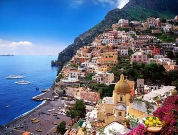 Turisti Positano Campania