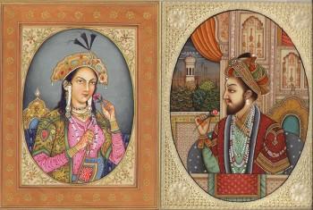 Gran Moghul Mumtaz-Mahal-and-Shah-Jahan