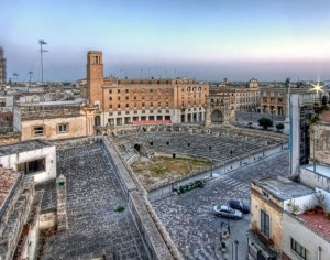Lecce barocca e l'antica Rudiae