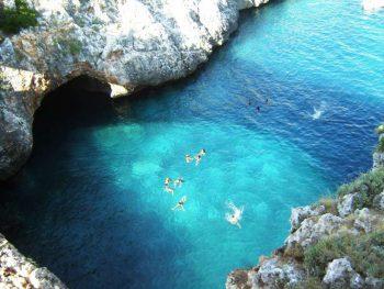 Porto Selvaggio, acqua cristallina