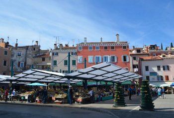 Rovigno Croazia-mercato-Rovigno