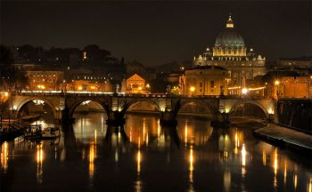 Arrivederci Roma Lungotevere-by-night