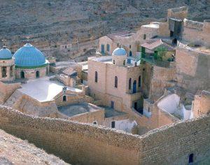 Monastero Greco Ortodosso nel deserto della Giudea