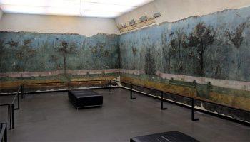Arrivederci Roma Villa-di-livia-stanza
