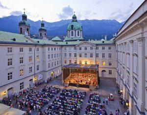 Innsbruck, concerti Promenade gratuiti nel Palazzo Imperiale