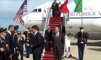 Air Force Air-Force-one-Italia-Renzi-l'americano
