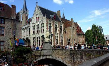 Bruges Bruges-ponte-sul-canale