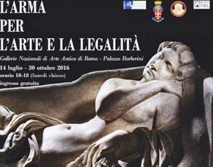 L'Arma per l'Arte e la Legalità: in mostra i beni recuperati