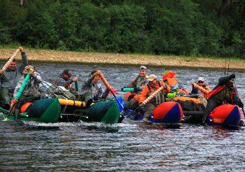 Siberia Tofalaria-rafting
