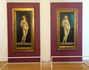 Le Veneri di Botticelli a confronto a Torino