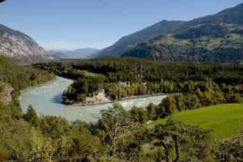 Ötztal la-valle-del-fiume-inn-nel-tratto-dove-si-pratica-il-rafting