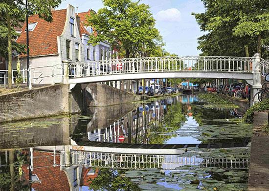 Città delft-olanda