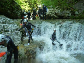 Sport dolomiti-friulane-canyoning