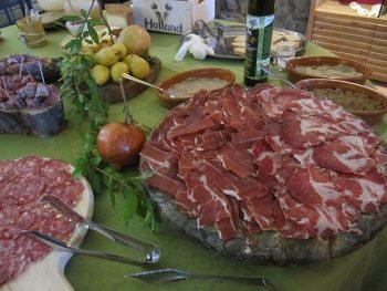 Francigena francigena-gastronomia