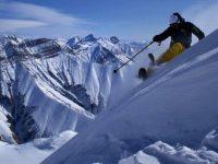 Lorenzo Alesi sulle montagne del Caucaso