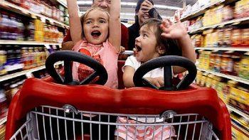 Supermercati la-spesa-con-i-figli