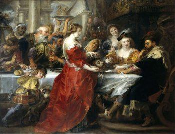 Impressionismo banchetto-di-erode-1635-1638-di-rubens