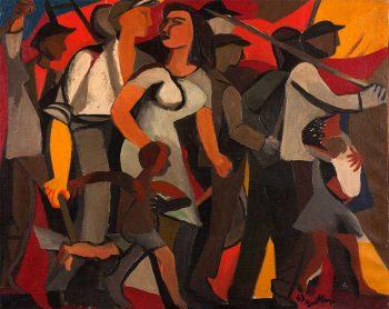 Impressionismo occupazione-delle-terra-guttuso-1947