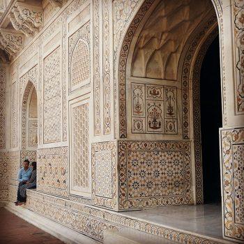 Cosa vedere ad Agra: dettagli del Taj Mahal