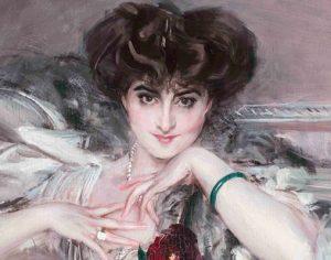 Giovanni Boldini. Ritratto della principessa Radziwill