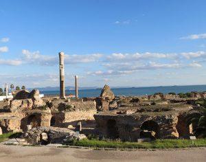 I resti di Cartagine in Tunisia