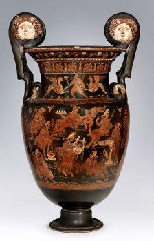 Ceramiche Cratere-a-volute-360-350a.C.-Pittore-di-lucurgo