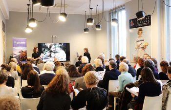 Irlanda Milano conf stampa Niamh Kinsella